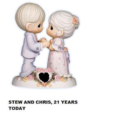 Hy 21st Wedding Anniversary To Us