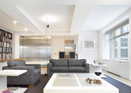 Architecture Homes: Apartment minimalist interior design ...