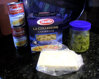 ingredients for jalapeño chicken
