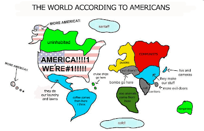 The world as seen by Americans