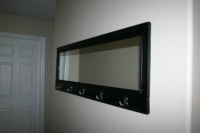 Moody Girl Projects: Coat Hook Mirror