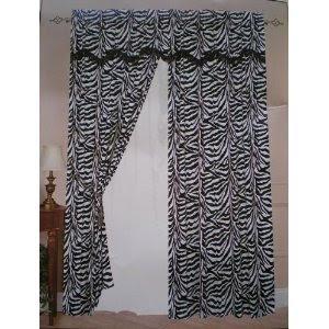 Zebra Print Curtains Native Home Garden Design