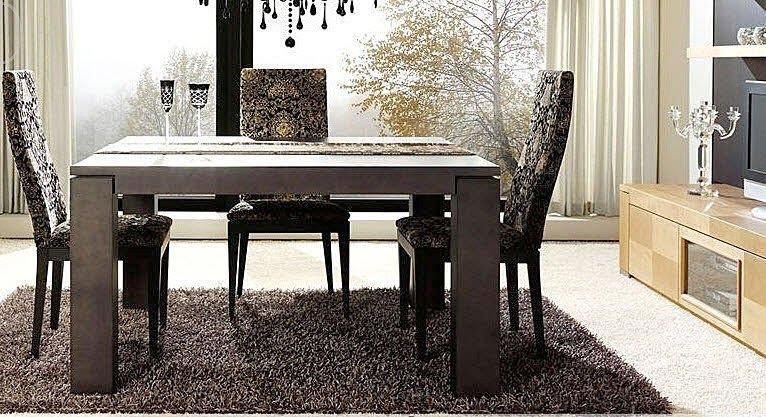 alfombras recibidor y saln comedor