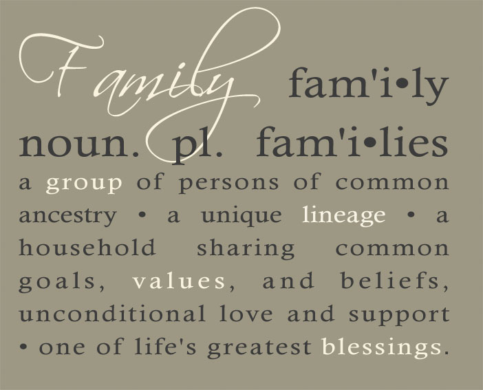 Definition of Family