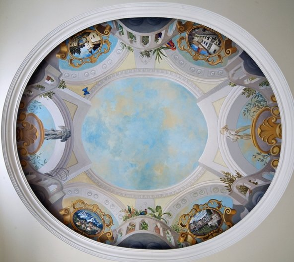 1000+ images about Ceiling murals on Pinterest | Painted ...