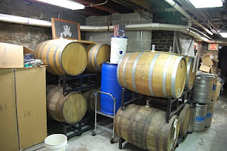 Bullfrog Brewing Barrel Cellar