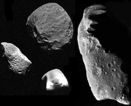 famous asteroids and comets - photo #8