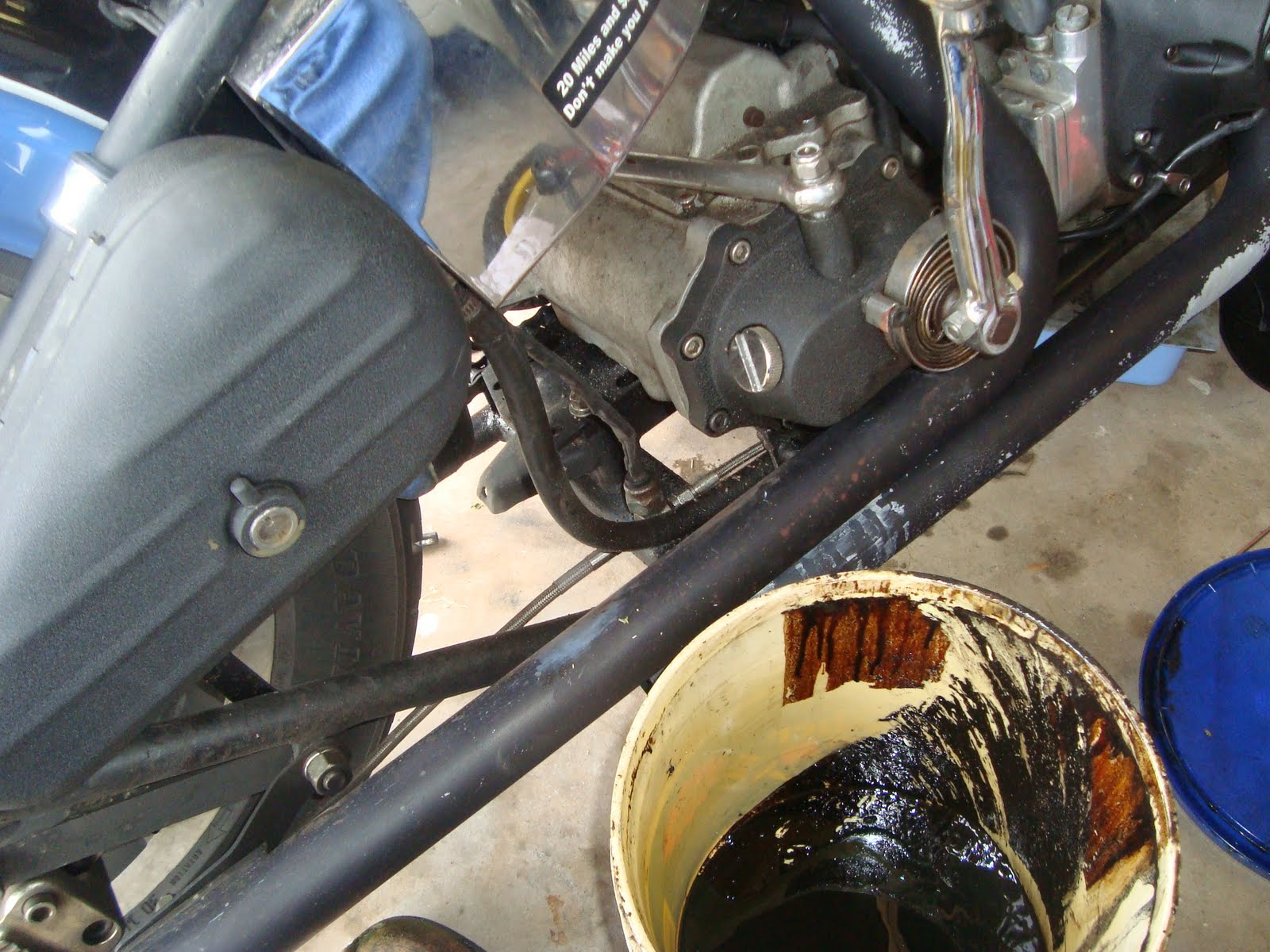 Tear it up, fix it, repeat: Shovelhead oil change