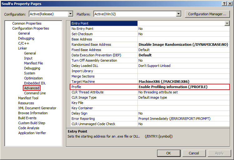 Stuff What I Posted: Visual Studio 2008 & profiling problems