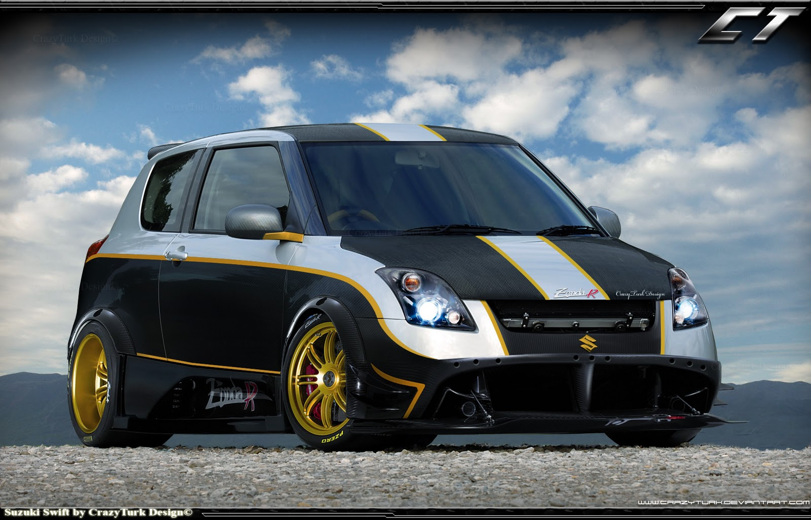Suzuki Swift Tuning Cars HD