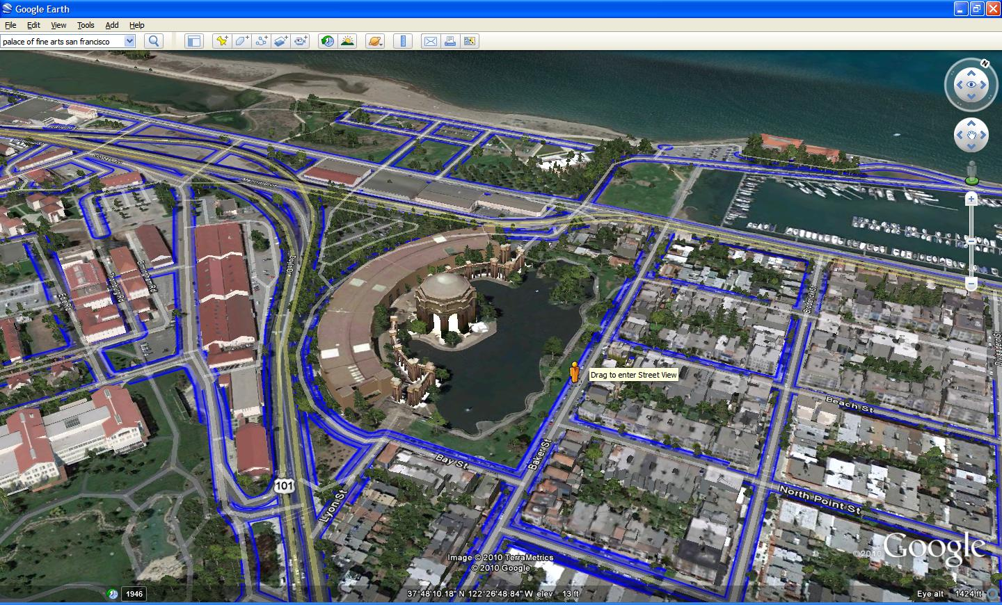 Official Google Blog Introducing Google Earth The Next - Nyc map google earth