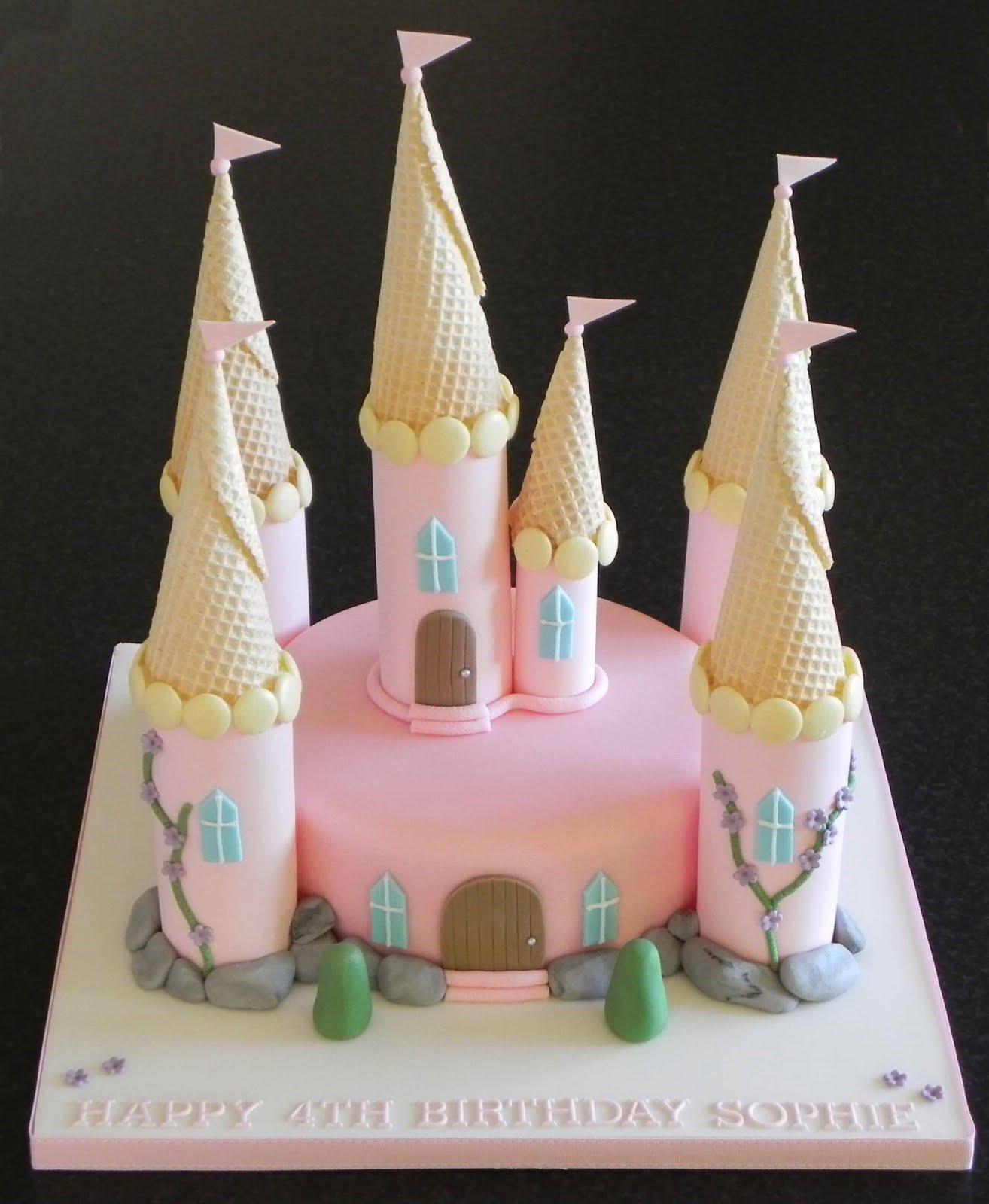 Cake By Lisa Price Princess Castle Cake