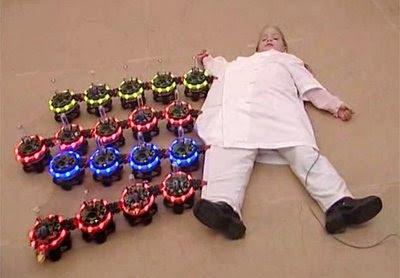 Enjambres de robots