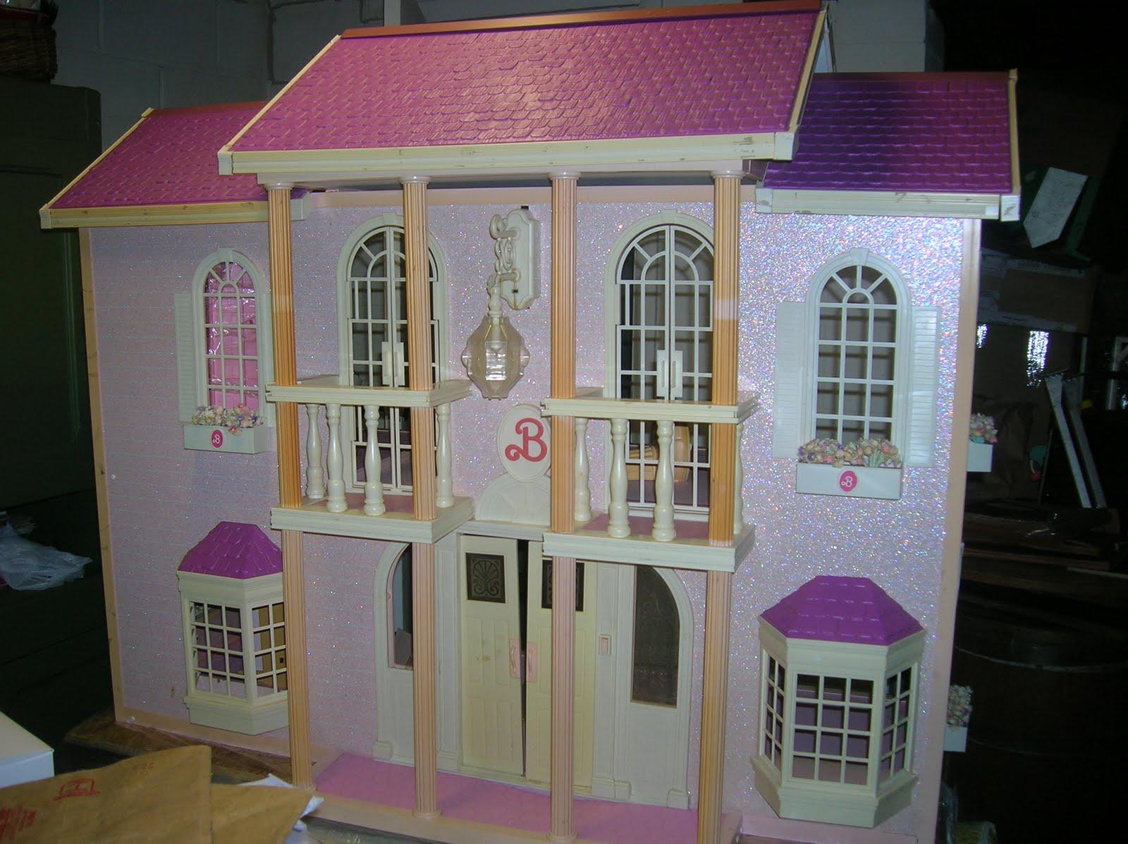 Sexy Cartoon Barbie Rare Barbie Magical Mansion Dream
