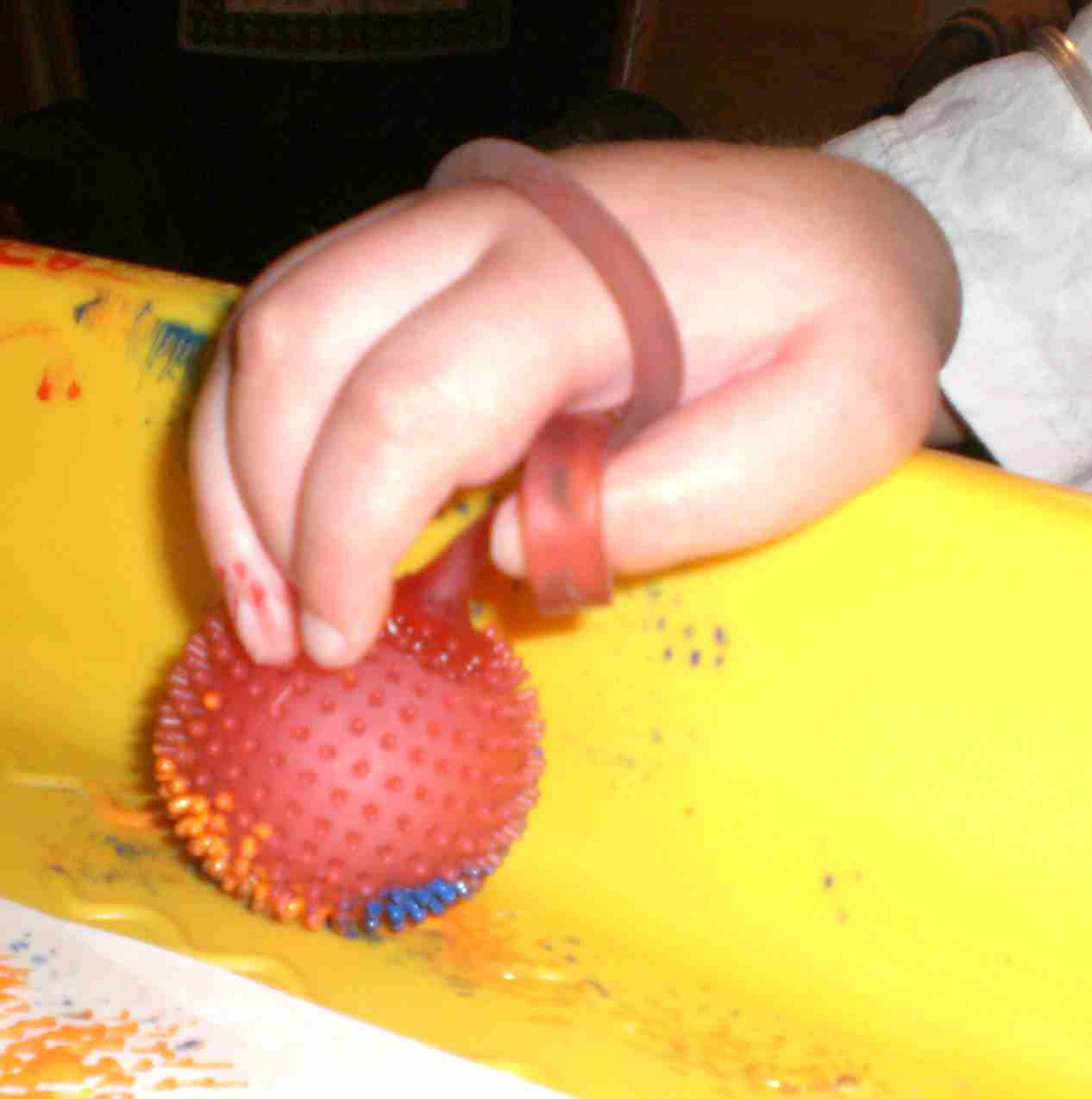 Squishy Yoyo Ball : Yo Yo Ball Painting - Therapy Fun Zone