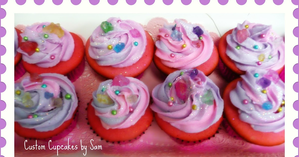 Sammy Cupcakes: Fancy Jewel cupcakes