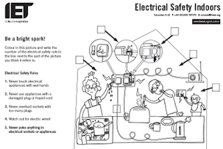 Printables. Electrical Safety Worksheet. Lemonlilyfestival