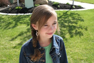 Portrait of young girl modeling Bohemian Fishtail Braid | Popular Hairstyles