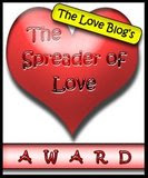 The Spreader of Love Blog Award Badge