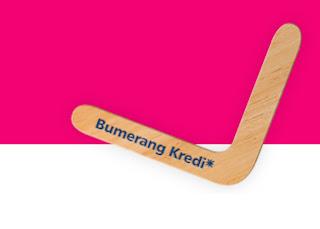 """Finansbank """"Bumerang Kredi"""""""