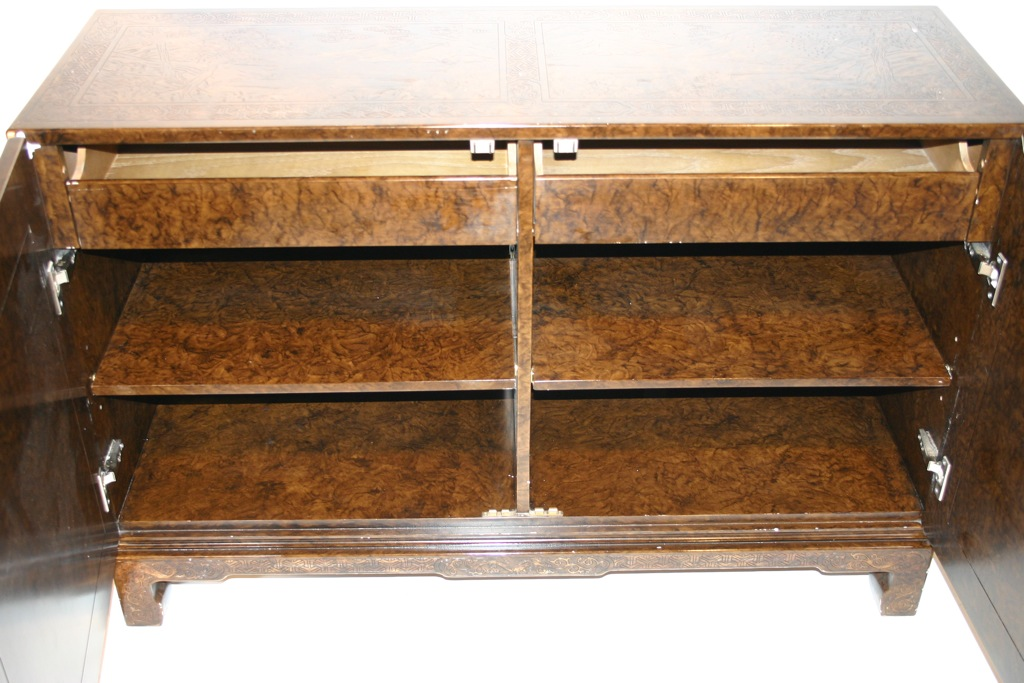 Cercis John Widdicomb Asian Lacquered Sideboard