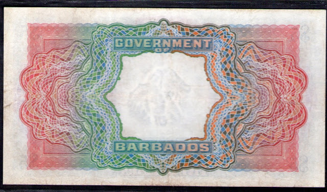 BARBADOS 5 dollars
