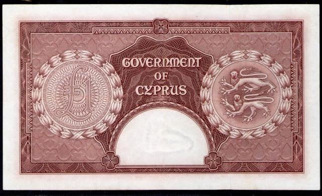 Cyprus money Cypriot pound