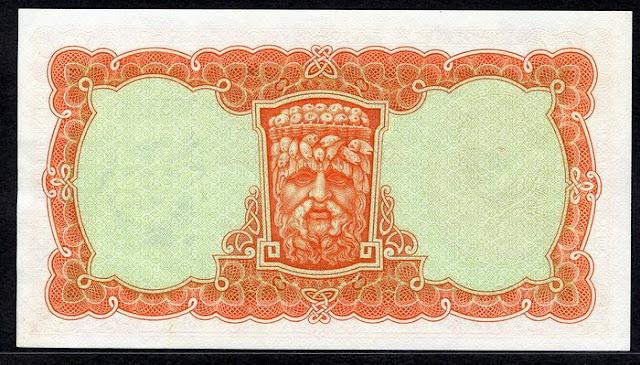 Irish paper money ten shilling banknote Numismatics