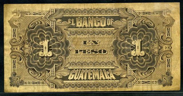 El Banco Guatemala un peso