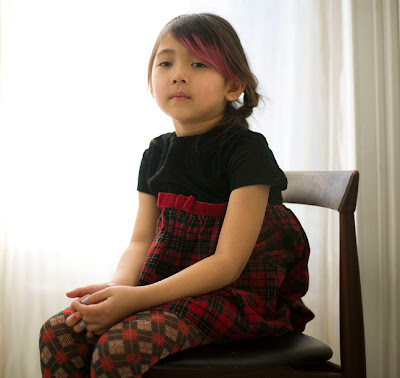 Mia Weiss 5 1 2 Years Old Korean American Was Born In North Carolina All Dressed Up For A Birthday Party She Lives With Her Parents And Two