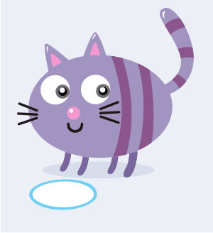 Download Vector: Simple Cute Cat