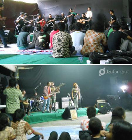 Band Band yang tampil di Advanjava