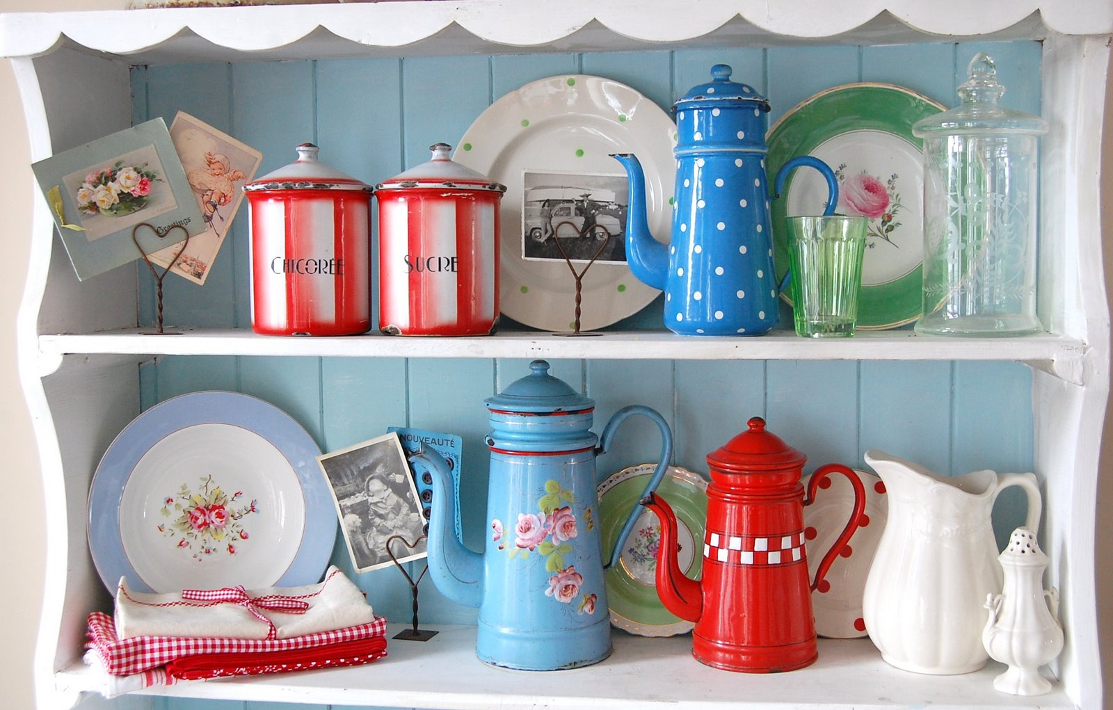 vintage french enamel by happy loves rosie