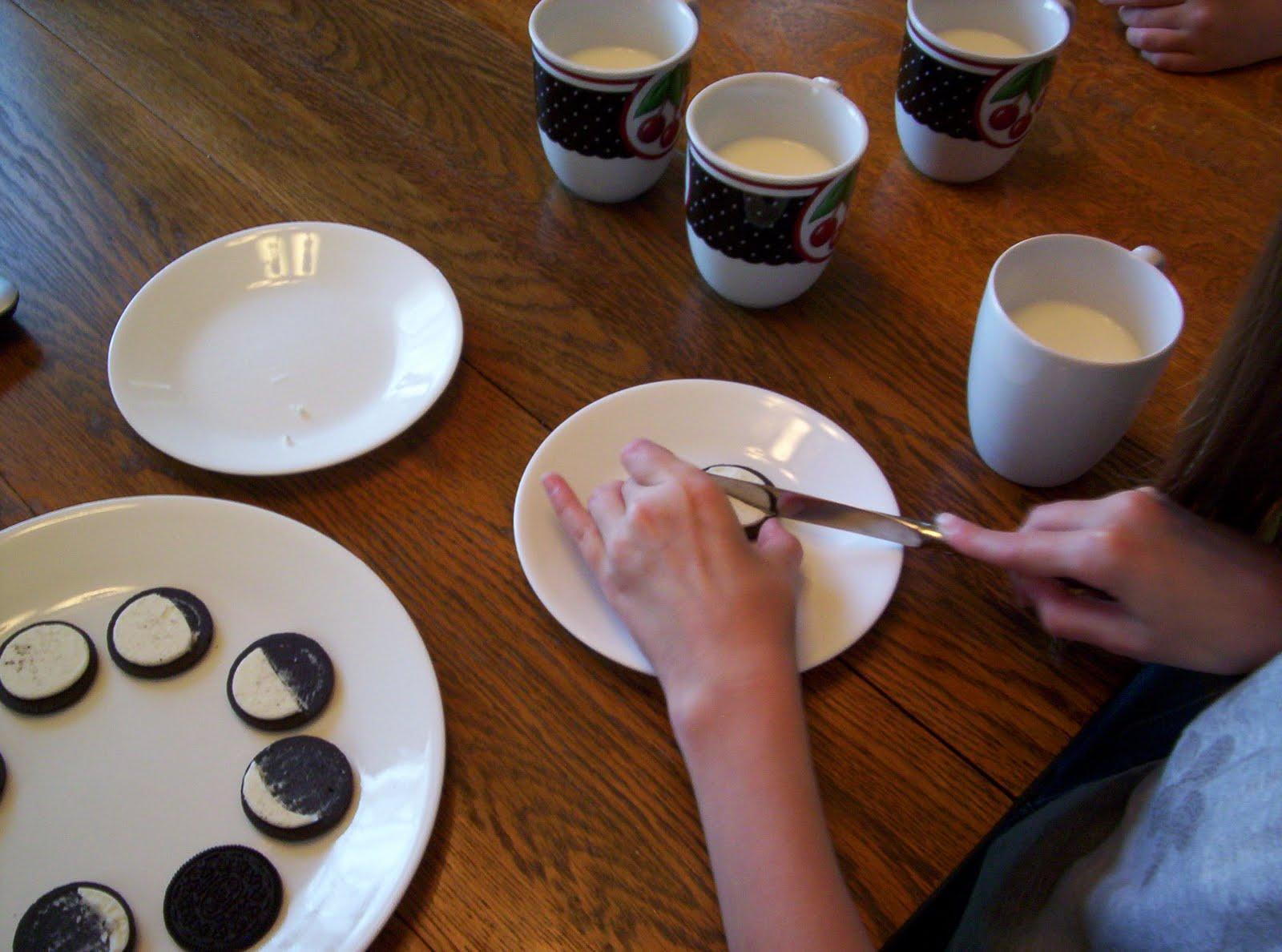 Oreo Cookie Moon Phases Worksheet
