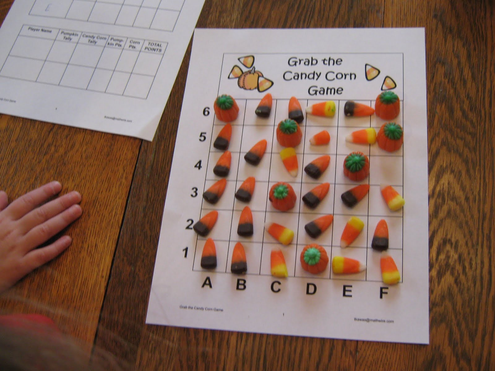 Almost Unschoolers Candy Corn Math