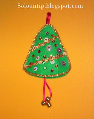 adornos de navidad para hacer con los nios paso