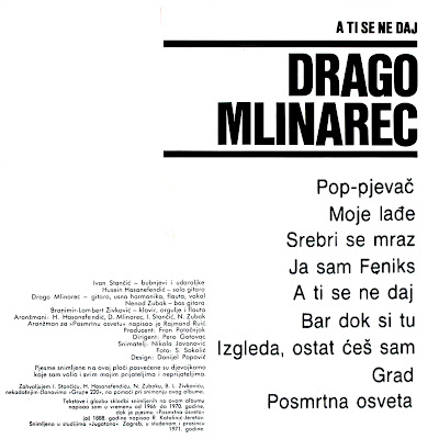 Drago Mlinarec Pjesme S Planine