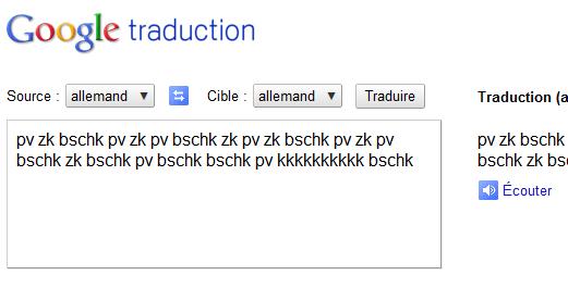 google traduction pdf