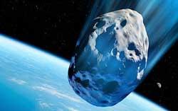 Asteroid Membawa Air ke Bumi