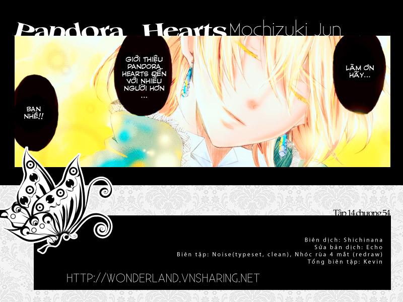 Pandora Hearts chương 054 - retrace: liv blank smile trang 1