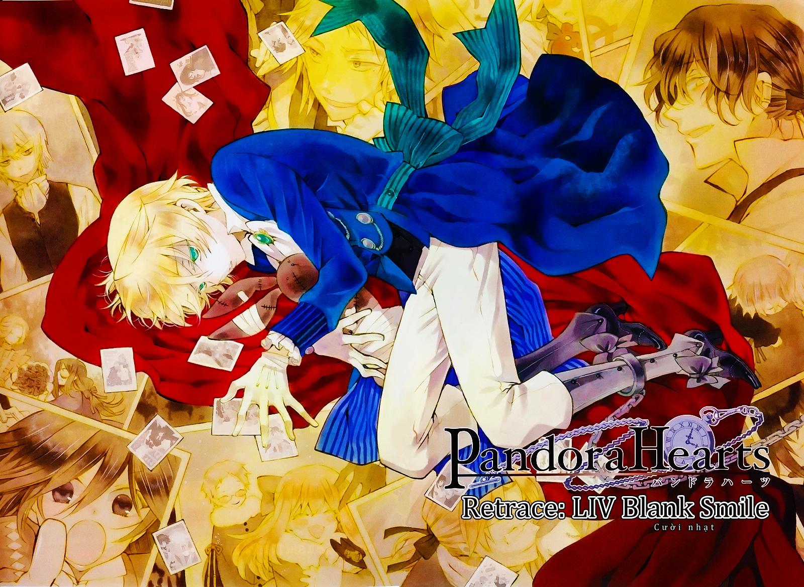 Pandora Hearts chương 054 - retrace: liv blank smile trang 2