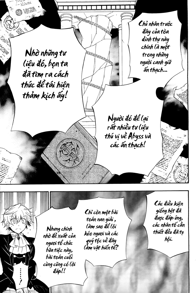 Pandora Hearts chương 054 - retrace: liv blank smile trang 20