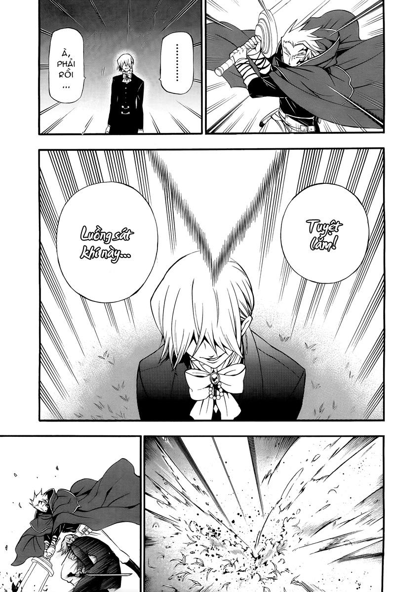 Pandora Hearts chương 054 - retrace: liv blank smile trang 32