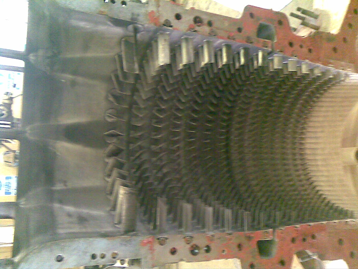 Ruston Turbine Tb5000 Gas Generator Stator Blades