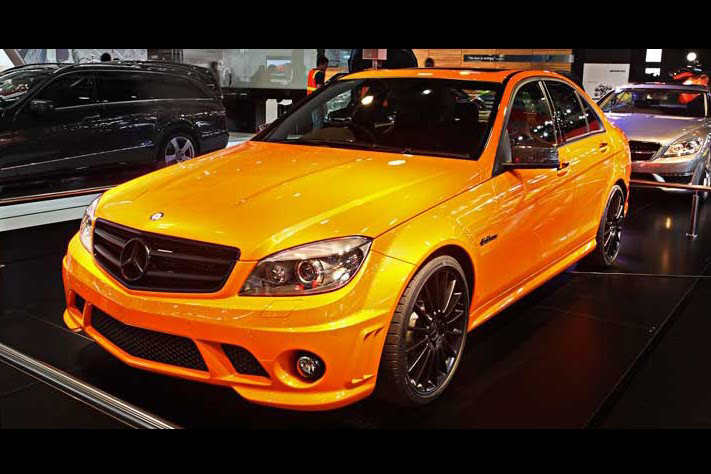 mercedes benz shows c63 amg not much of a concept 358 in sydney. Black Bedroom Furniture Sets. Home Design Ideas