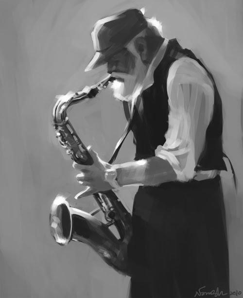 Lostinarc: Sax-player