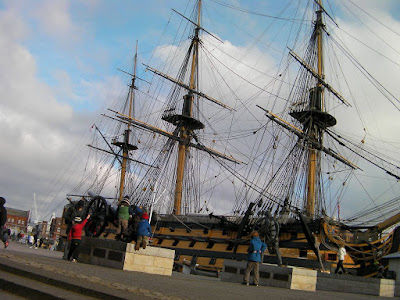 hms victory rigging