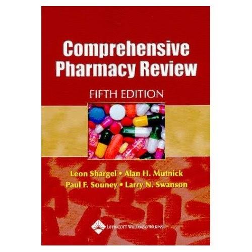 comprehensive pharmacy overview yahoo books