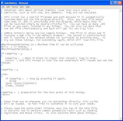 maxEasyGuide: Auto Ping Blueserver Using AutoHotkey