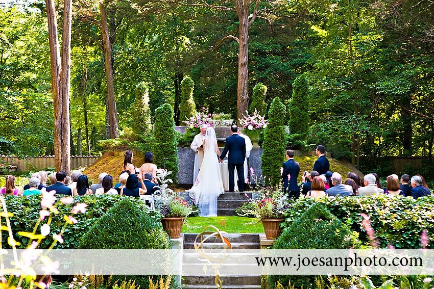 for Katharine Justin 39s garden themed wedding at the Caramoor